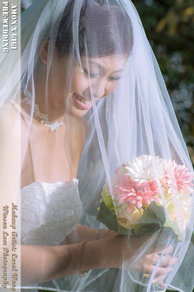 婚紗相化妝 Pre Wedding Makeup Carol P Make Up
